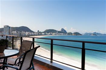 Penthouse Apartment an der Copacabana