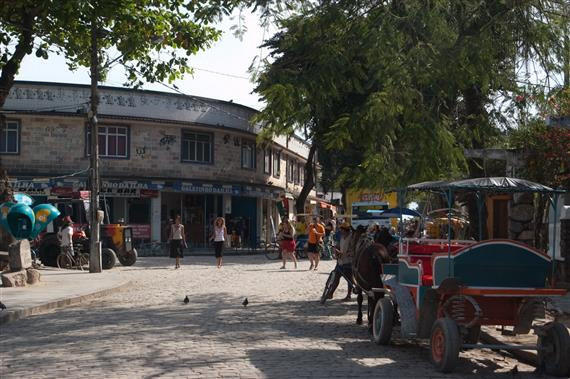 Towncenter of Ilha de Paqueta