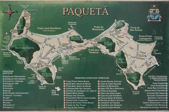 map of ilha de paqueta