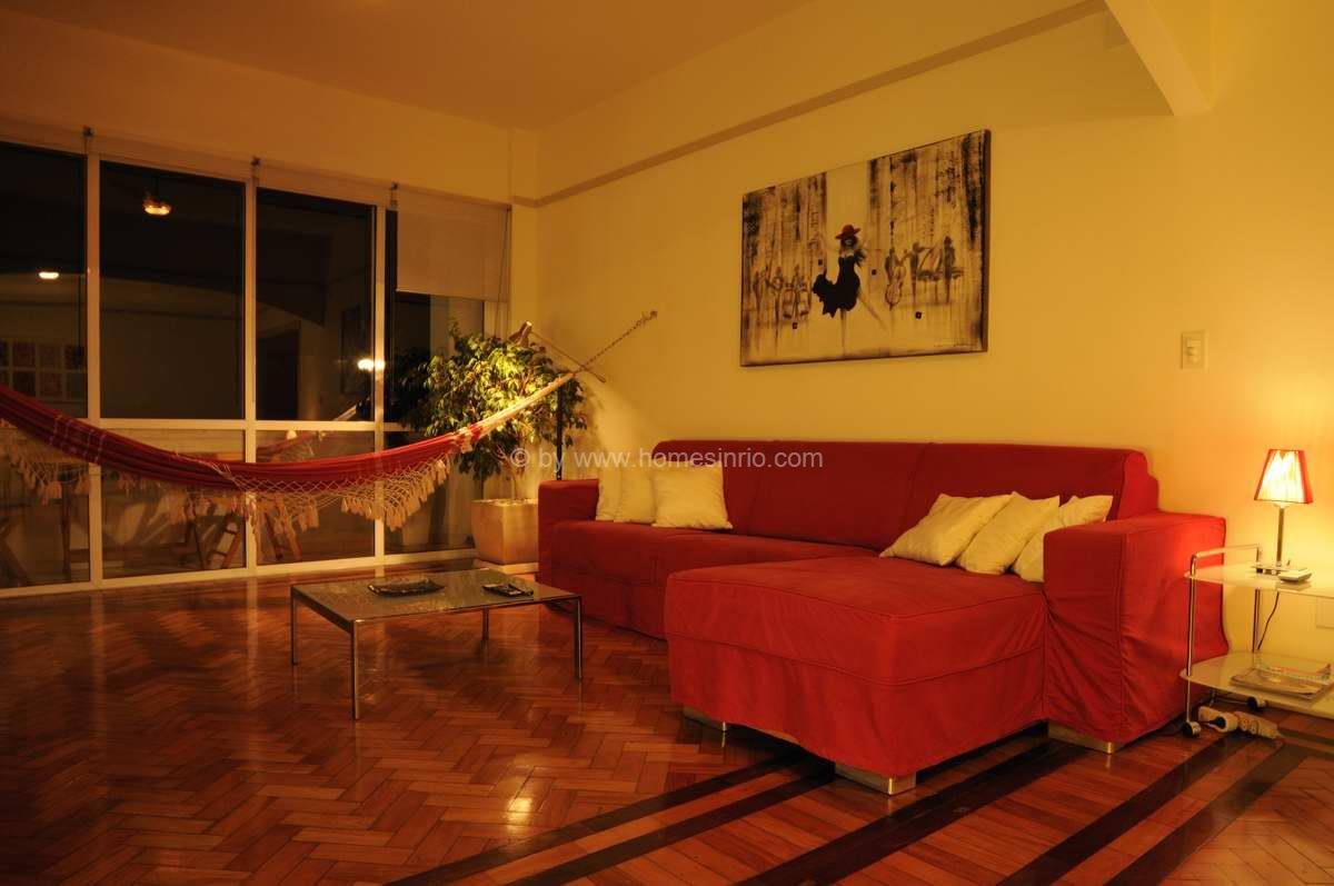 Luxus appartement in rio de janeiro copacabana objekt nr - Pictures of apartment living rooms ...